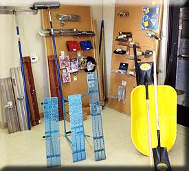 All the Tools you will need at Valley Sand and Gravel